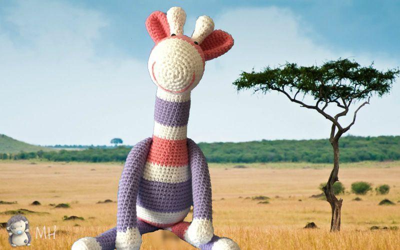 Jirafa amigurumi rayas | crochet | Pinterest | Jirafa, Patrones ...