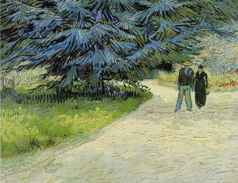 Vincent Van Gogh Le Jardin Du Poete 1888 Collection Privee Van