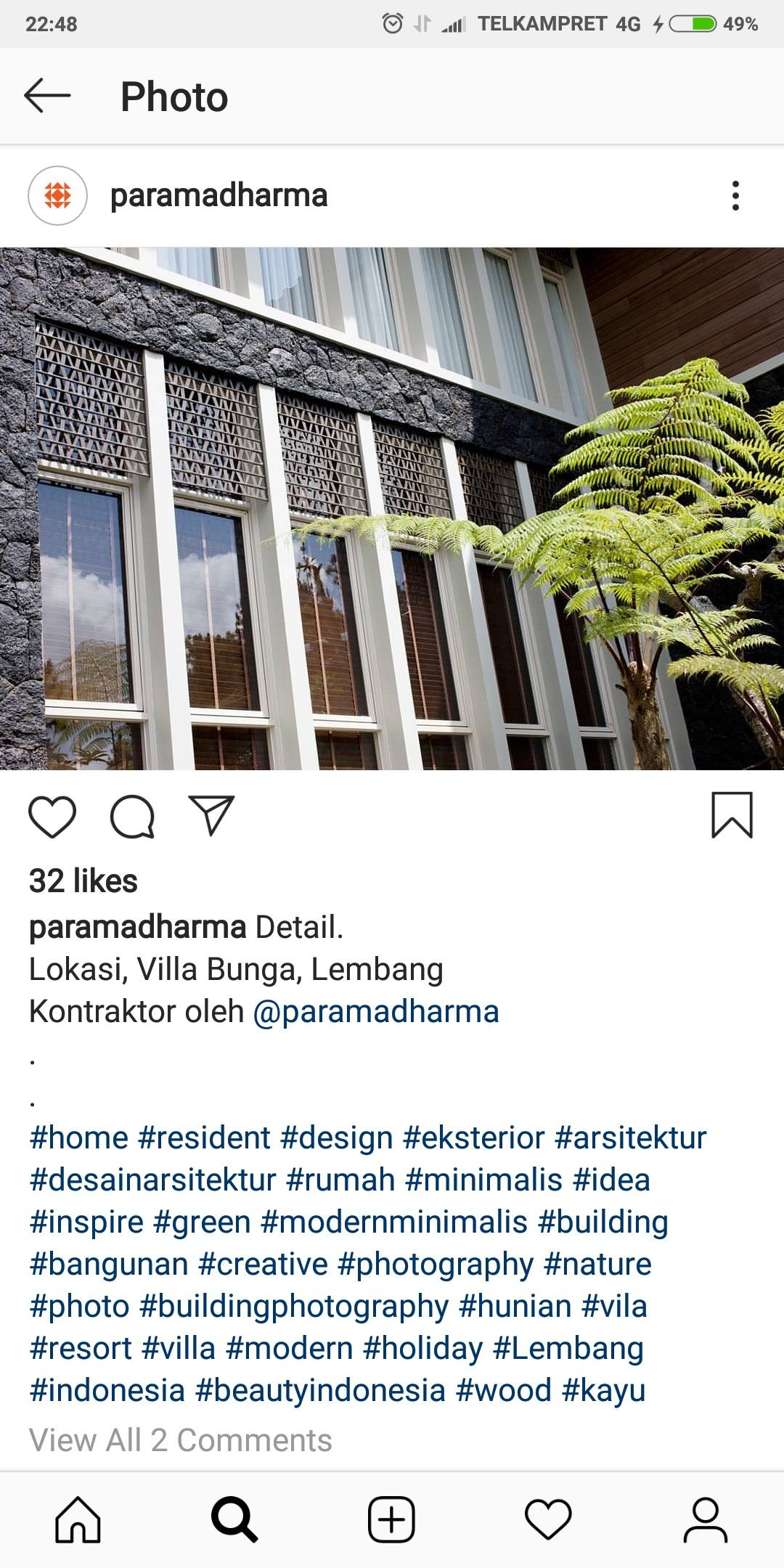 Pin Oleh Fitra S Di Window Desain Arsitektur Eksterior Villa