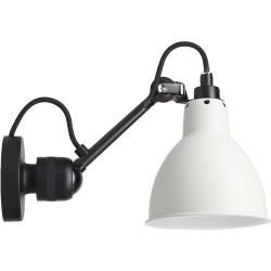 Photo of Dcw Lampe Gras No. 304 black wall lamp, shade white Dcw Editions