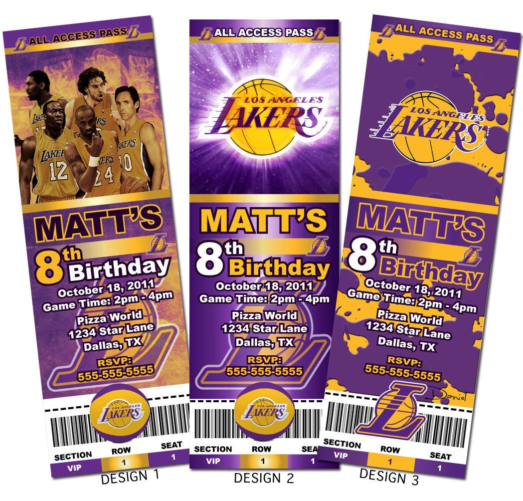 Los Angeles Lakers Kobe Basketball Custom Party By Aainvites 8 99 Jordan Baby Shower Superhero Baby Shower Party Tickets