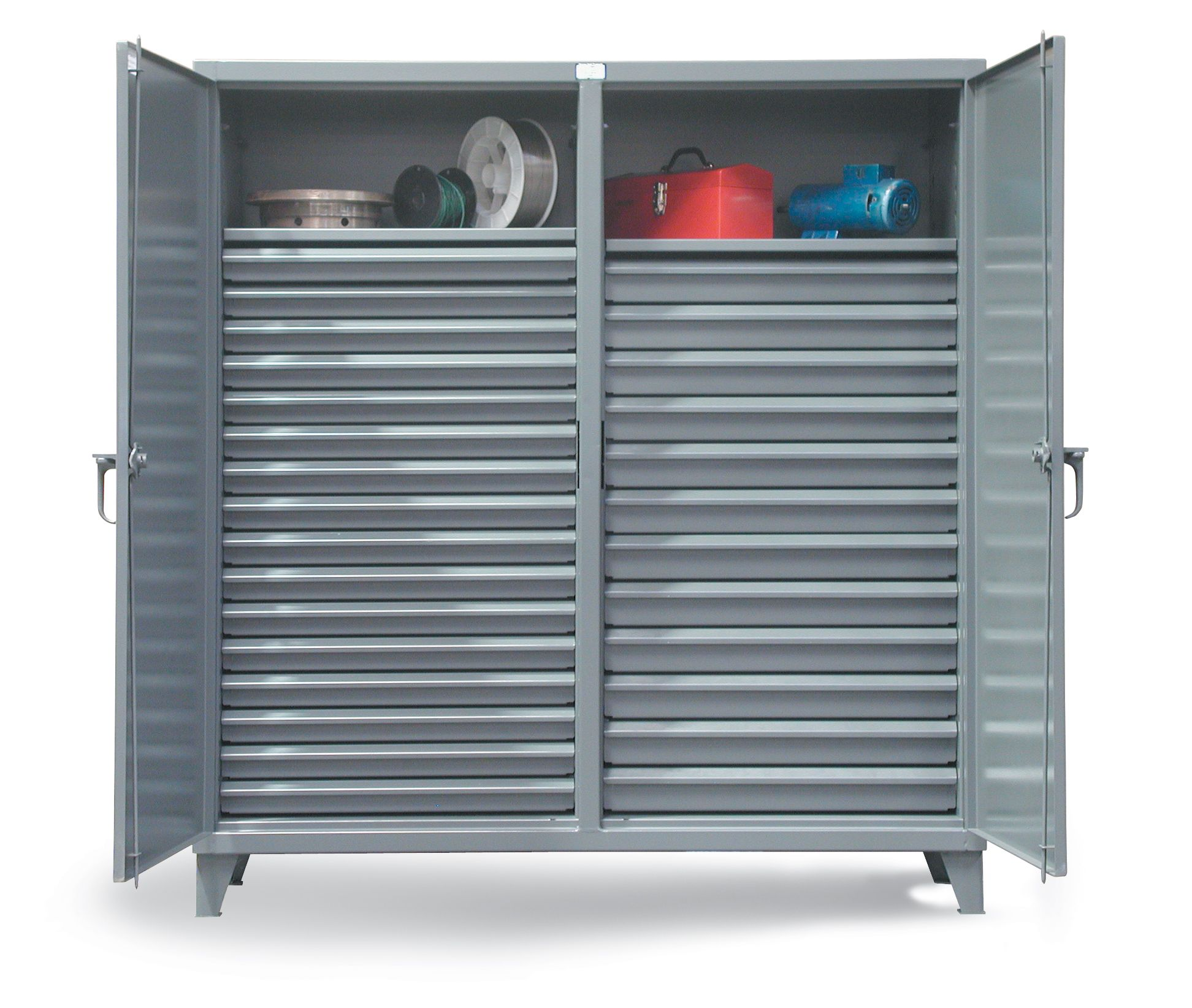 Strong Hold Products Locker Storage Cabinet Drawers