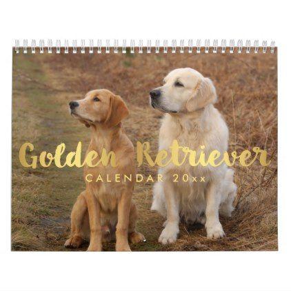 Golden Retriever Calendar 2020 Your Custom Photos Zazzle Com