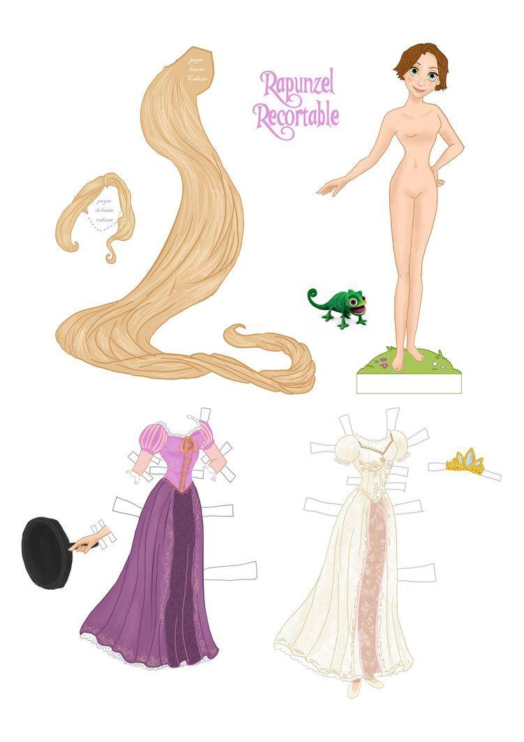 Recortable de Esmeralda (Fanmade) | Dibujos | Pinterest | Muñecas ...