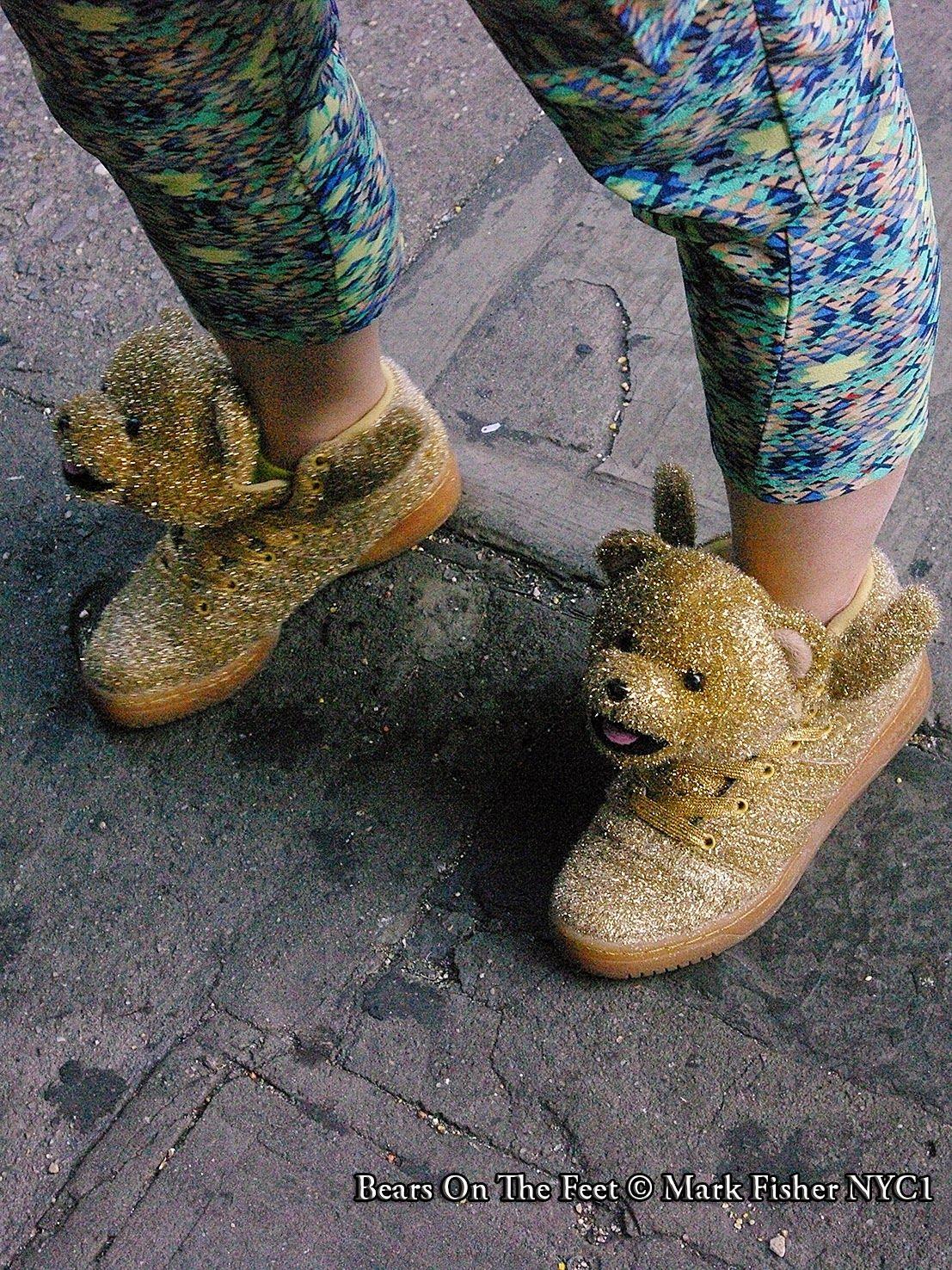 Mark Fisher American Photographer™: Bears On The Feet