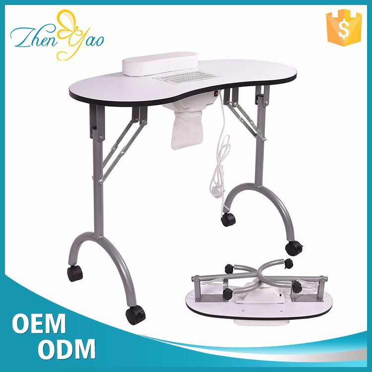 Hot Sale Nail Salon Station Manicure Table With Exhaust