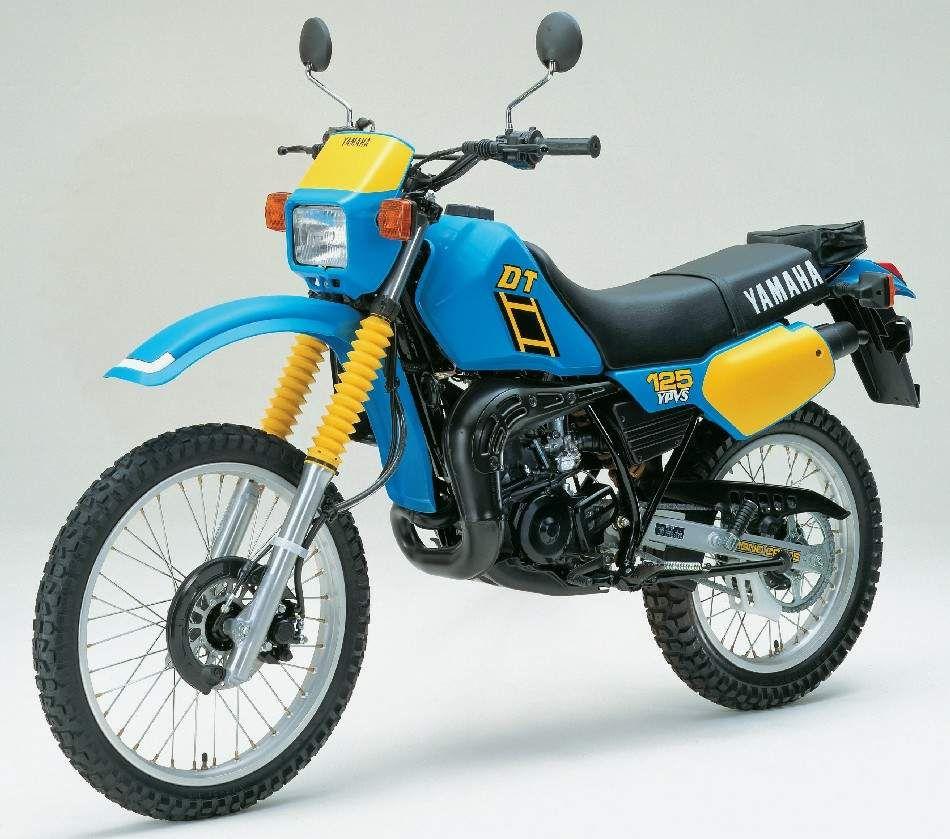 Yamaha Dt125 Enduro Motorcycle Vintage Motocross Yamaha
