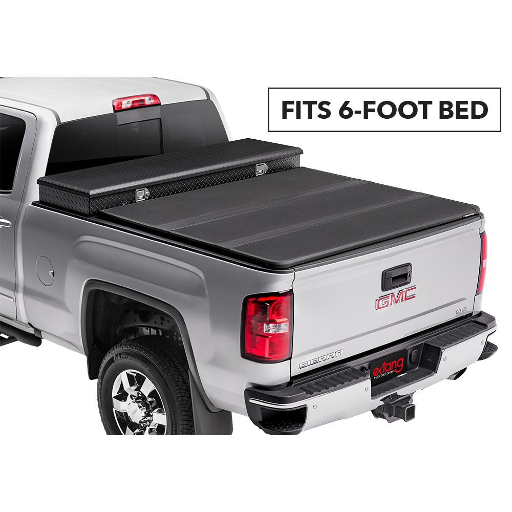 Extang Solid Fold 2 0 Toolbox Tonneau Cover 15 19 Colorado Canyon 6 Bed 84355 The Home Depot Tonneau Cover F150 Tool Box