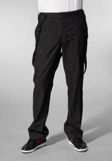 NWT Juicy Couture 36 x34 Pants Slacks Pinstripe Suspender Flapper Gangster Mob #JuicyCouture #DressFlatFront