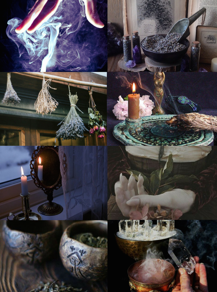 "Witch Aesthetics // Scent Witch ""Requested "" Chaos Witch 