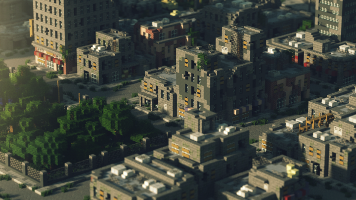 Abandon: Post Apocalyptic City Minecraft Project | minekraft ...