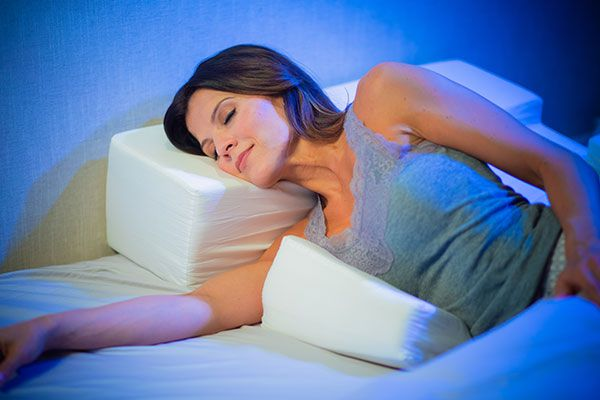 The Shoulder Side Sleeper Pillow Is Designed To Reduce The Pressure