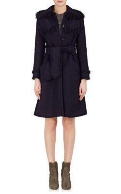 NINA RICCI Tweed Belted Coat. #ninaricci #cloth #coat