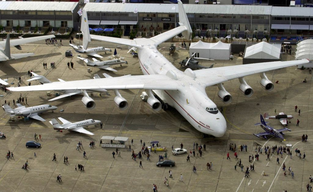 The largest transport plane in the world remains the