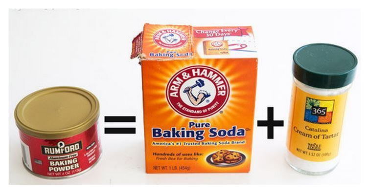 13 Baking Ingredients You Can DIY (With images)   Make baking powder. Homemade baking powder. Baking powder