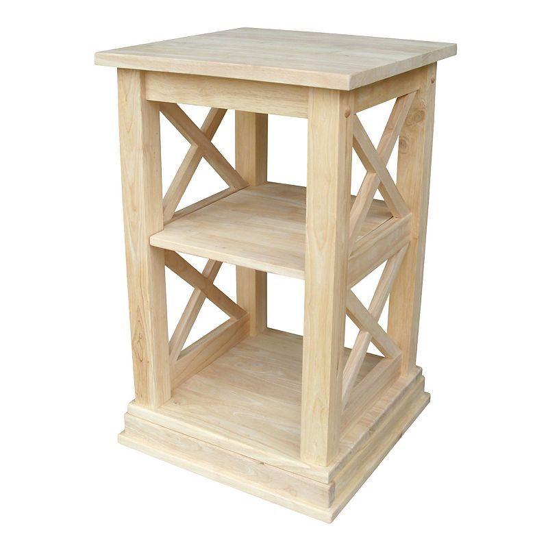 Hampton Accent Table, Beig/Green (Beig/Khaki)
