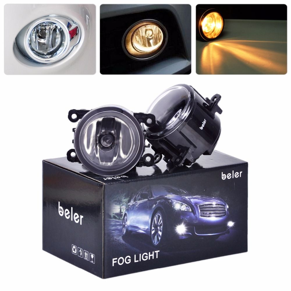 Beler 2x Driver Side Passenger Side Fog Light Lamp H11 Bulbs 4f9z 15200 Aa For Ford Ranger 2005 2006 2007 2008 2009 2010 2011 Car Lights Lights Honda Pilot