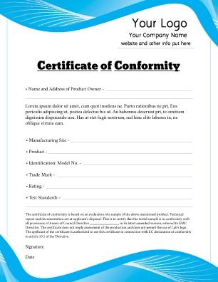 Amazing Try The PageProdigy Online Designer With One Of These Certificate Of  Conformity Free Templates Today!