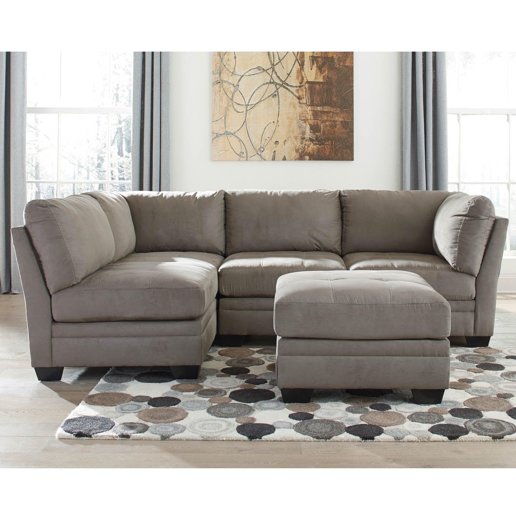 800 Iago Cobblestone 5 Piece Sectional Modular Sectional Sofa
