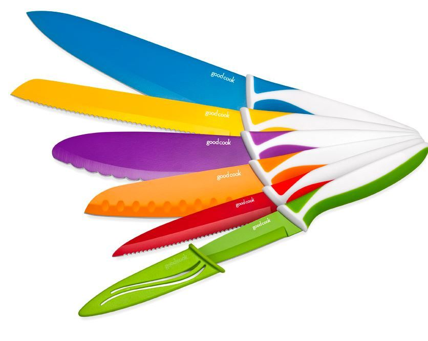 Win a set of Good Cook knives! http://www.nicolesnickels.com/2013/04/chop-it-up-with-good-cook-nonstick-knives-and-giveaway.html