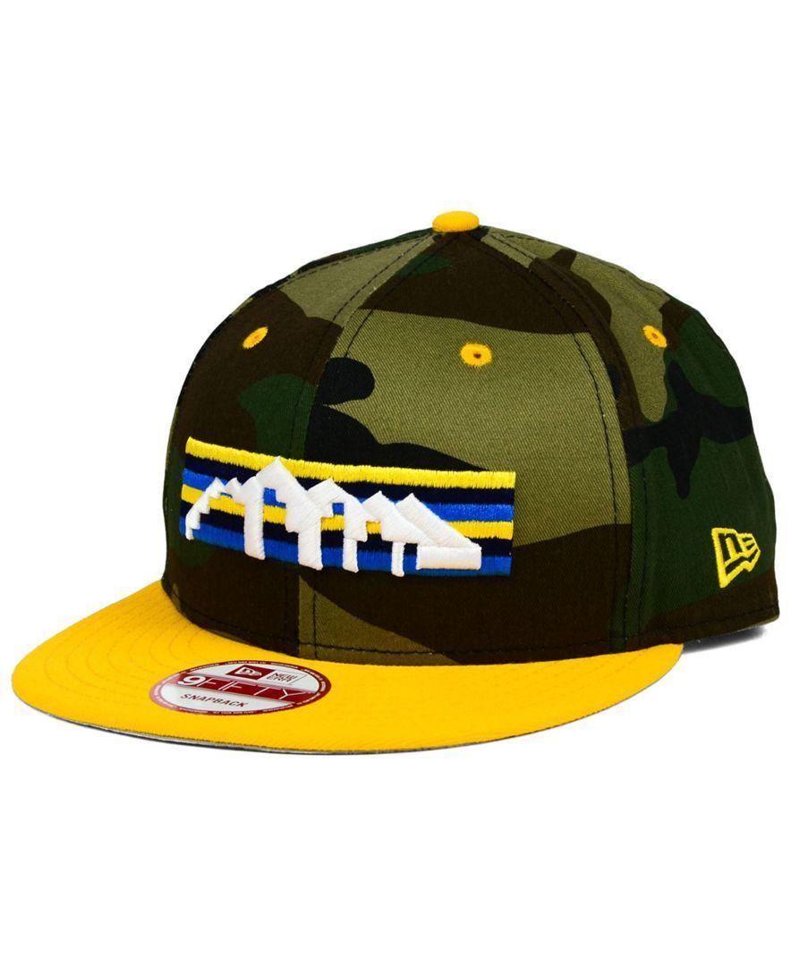 New Era Denver Nuggets Team Color 9FIFTY Snapback Cap