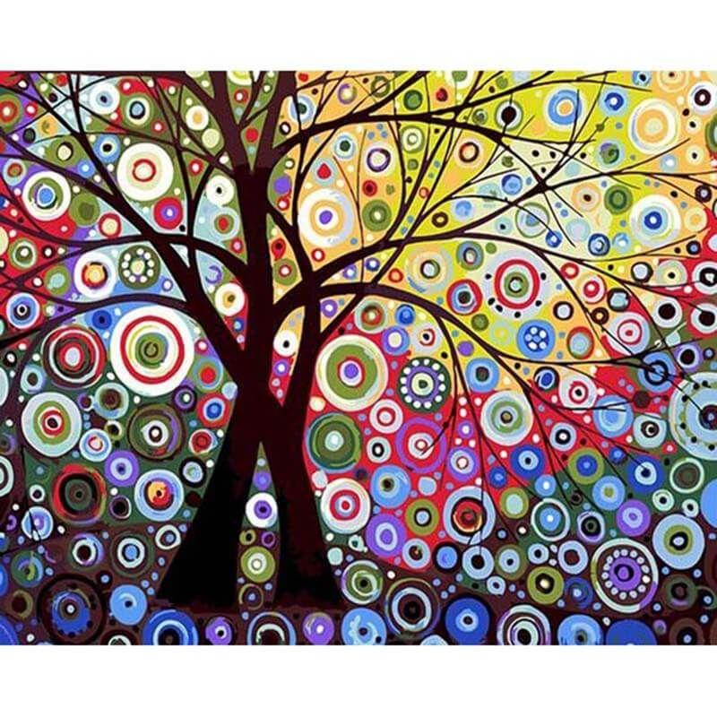 Pin Auf Farbenfroh Malen Nach Zahlen
