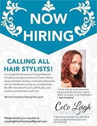 Stylist Wanted Forest Hill Md Hair Stylist Stylists Hair Boutique