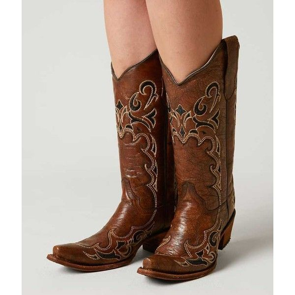 Ravel Turner tan suede floral embroidered western cowboy heeled boots BNIB  UK 5