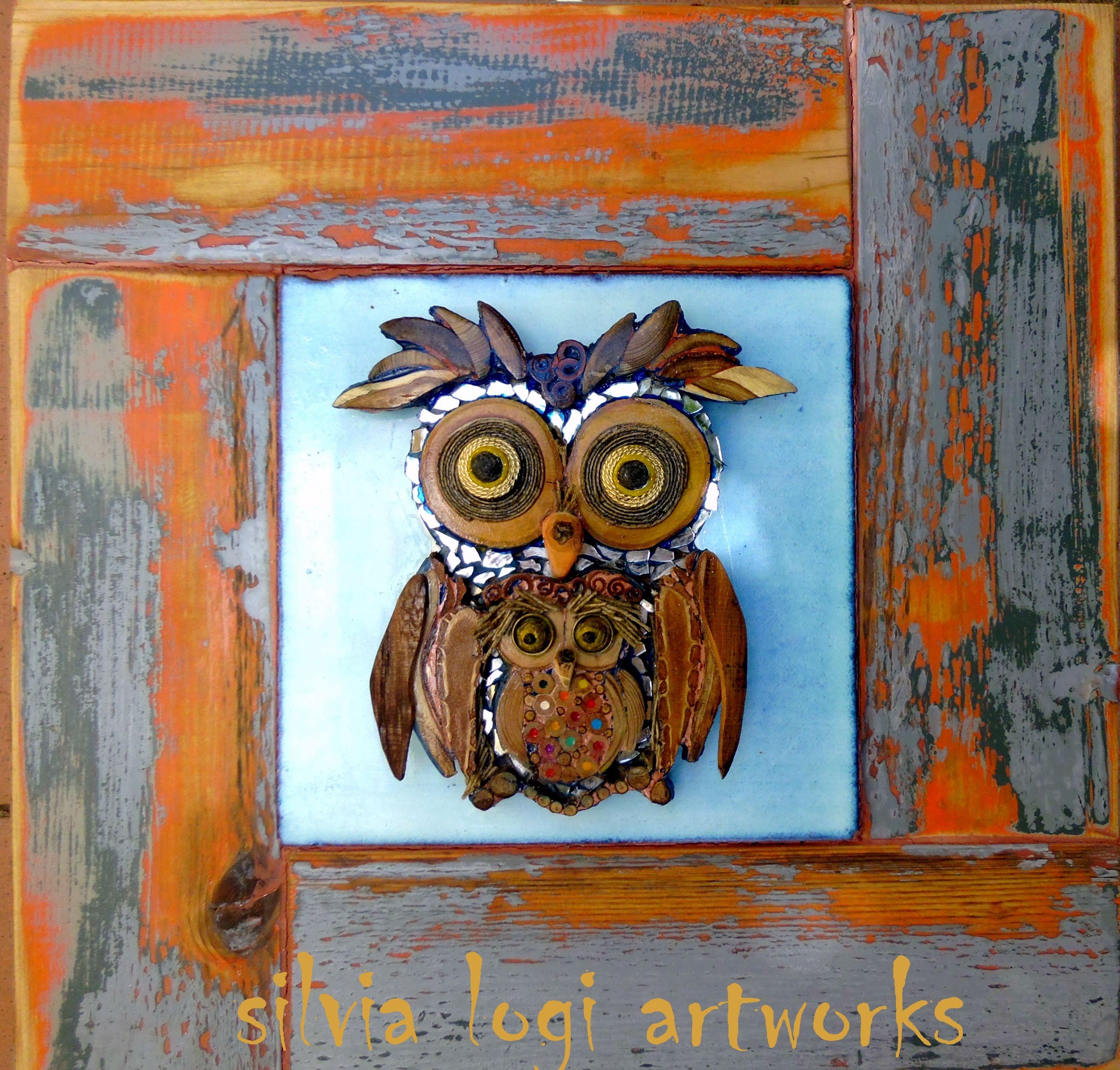 Pin di silvia logi su animals mosaic birds art e for Mobili wooden art
