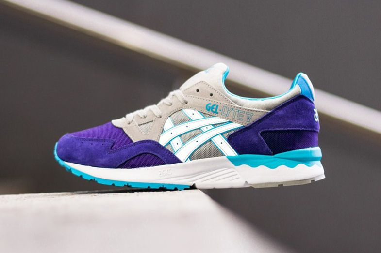 quality design eac69 da08e ASICS GEL-Lyte V Dark Blue/Light Grey | Kicks | Asics gel ...