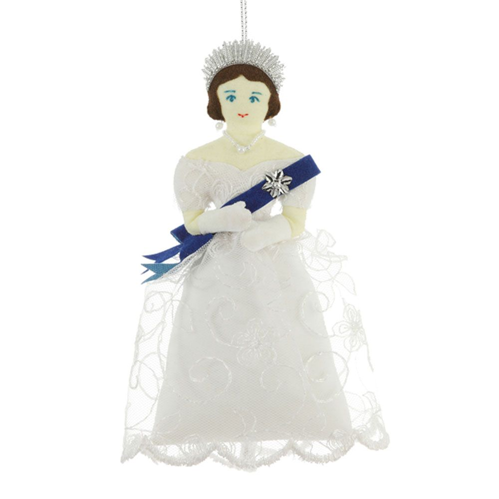 Queen Victoria tree decoration   Tree decorations, Historical christmas, Young queen victoria