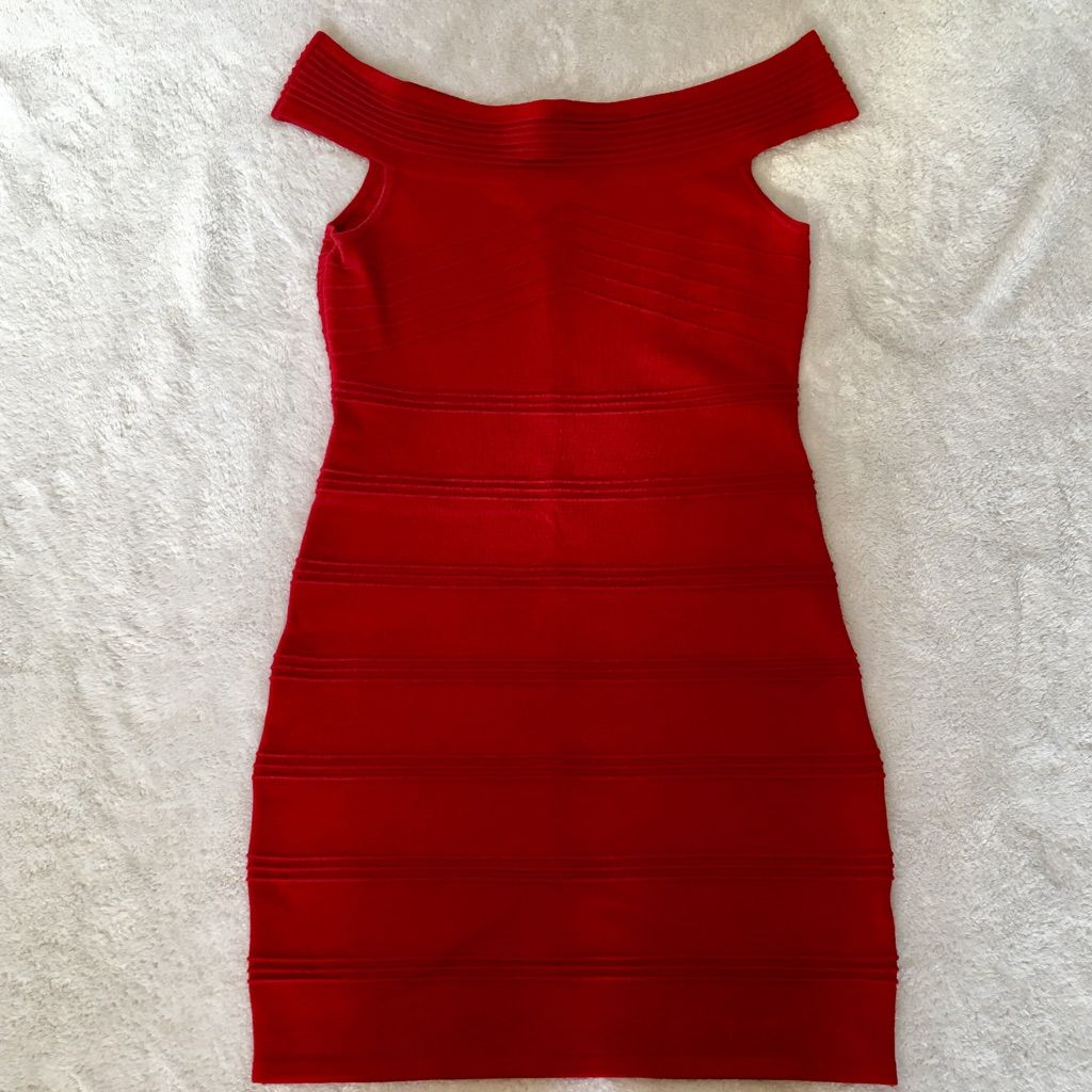 Sexy Red Forever 21 Dress
