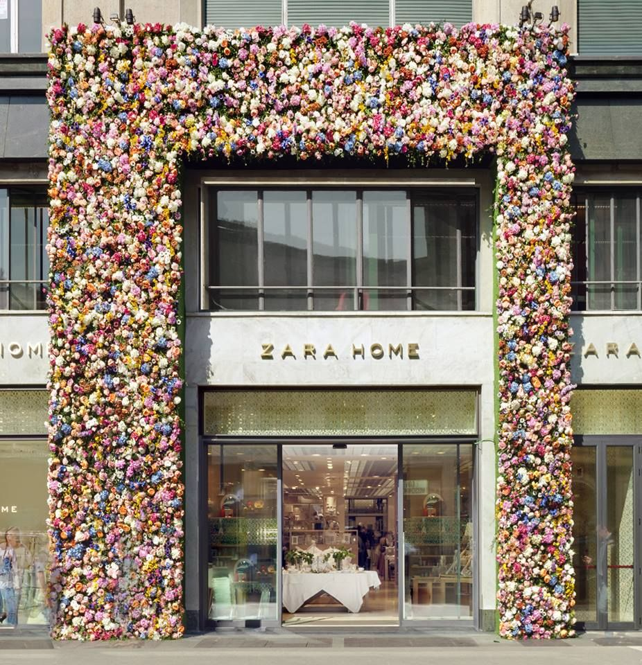 Zara Home - Special façade by Thierry Boutemy for Salone del ...