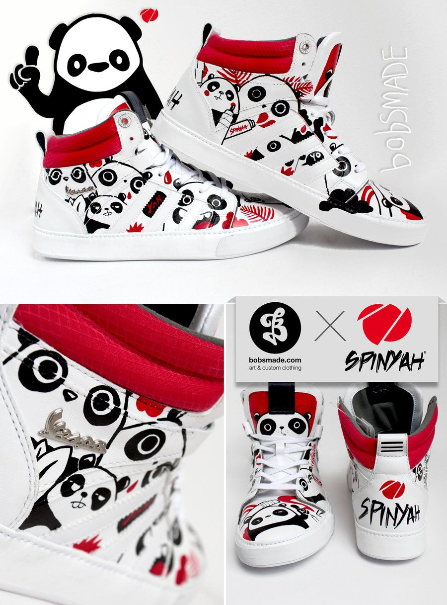 Bobsmade x SpinYah x Adidas by =Bobsmade on deviantART