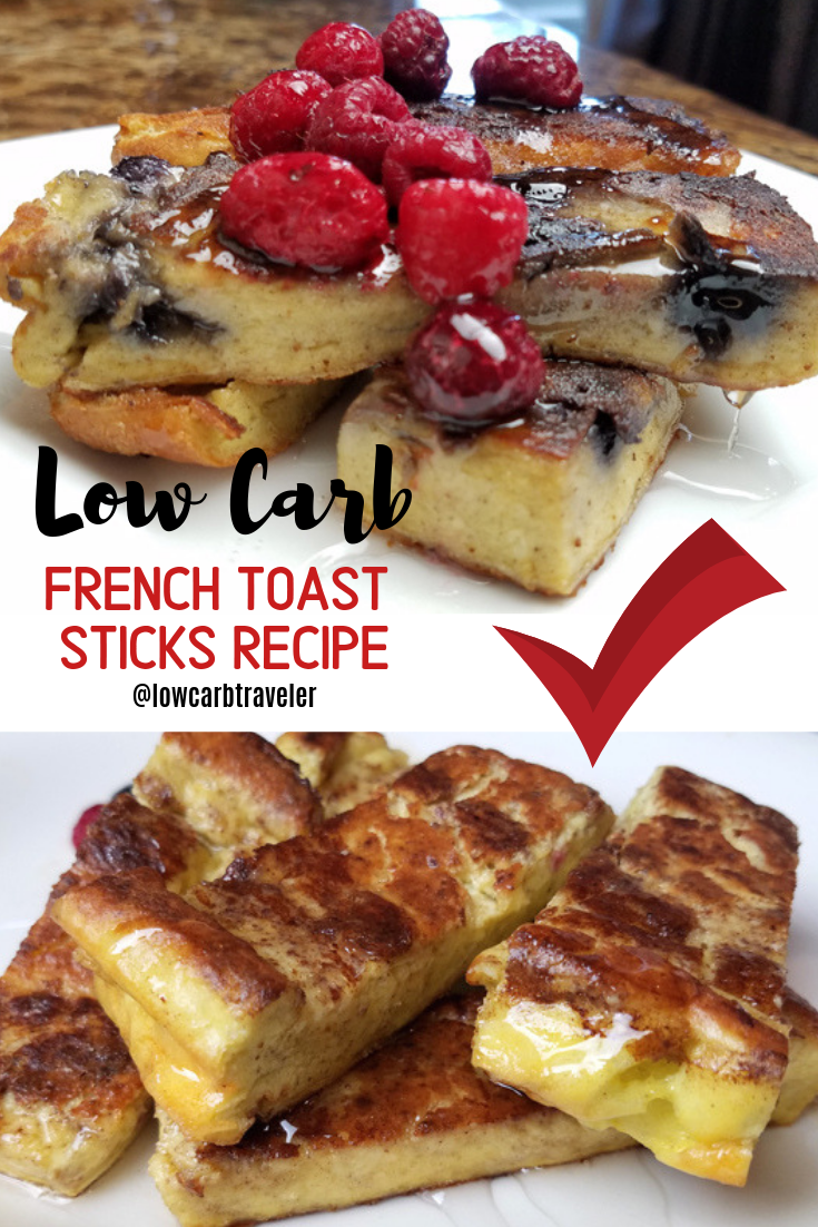 Photo of Low Carb French Toast Sticks Recipe