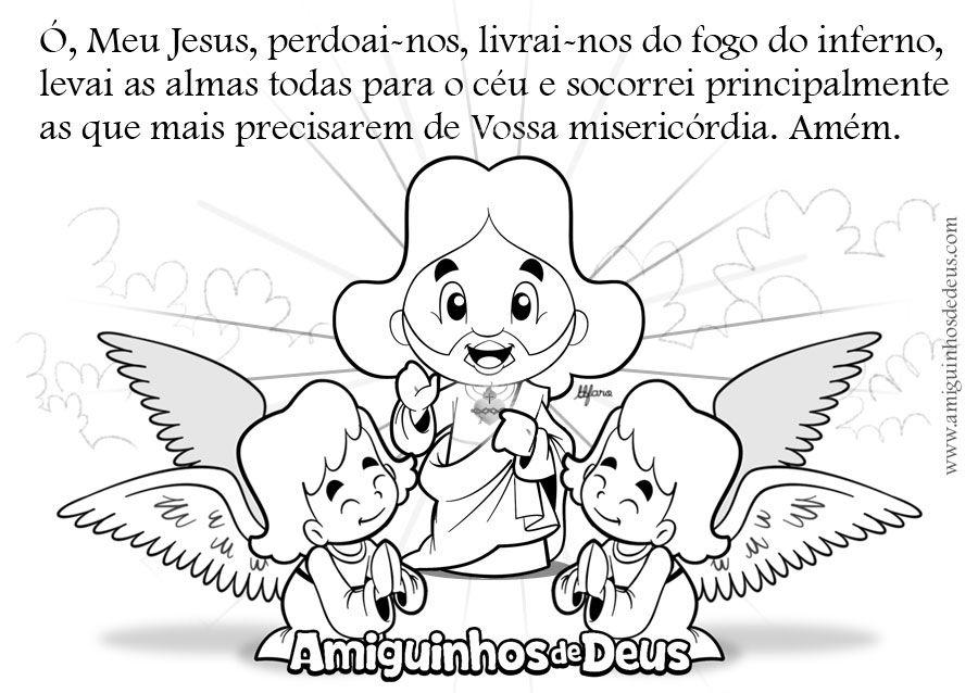 O Meu Jesus Desenho Para Colorir Atividades Da Biblia Para