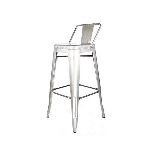 Decoración Vintage Classy – Taburete alto de metal, barniz incoloro con respaldo 43 × 43 x 95 cm, asiento 76 x 30 x 30 cm - http://vivahogar.net/oferta/decoracion-vintage-classy-taburete-alto-de-metal-barniz-incoloro-con-respaldo-43-x-43-x-95-cm-asiento-76-x-30-x-30-cm/ -