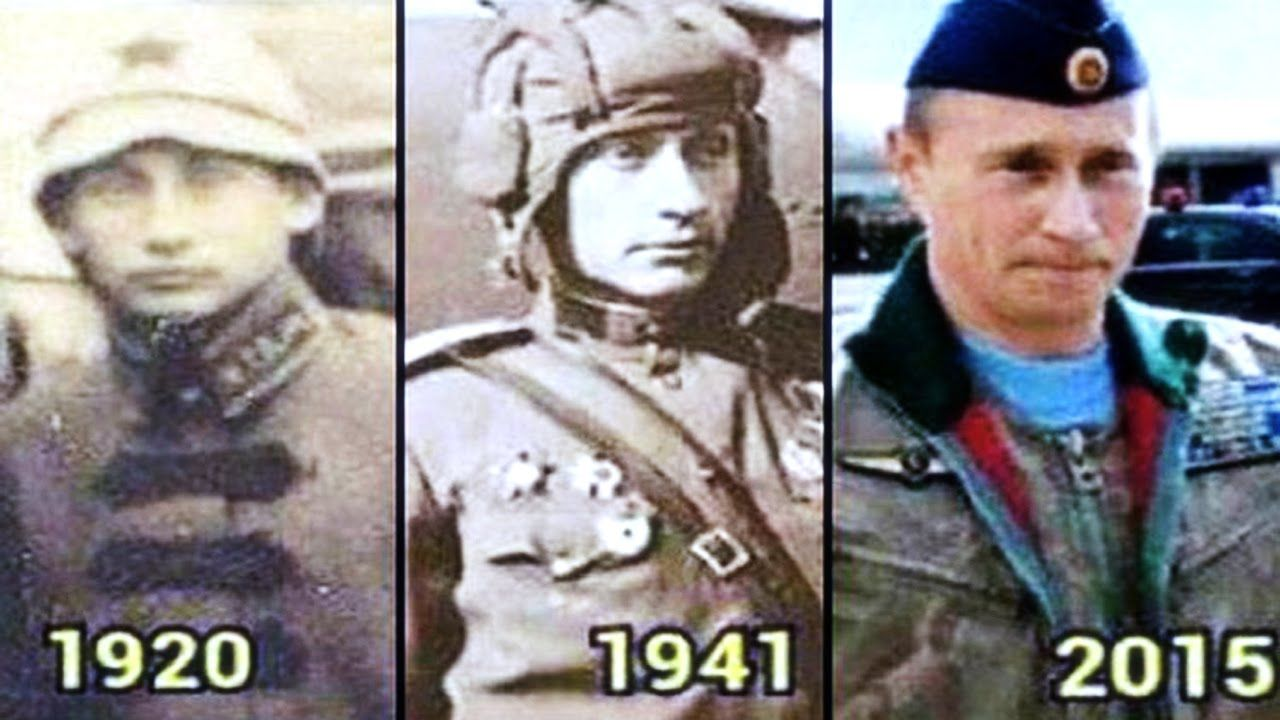 Top 10 Strangest Coincidences In History Wladimir putin