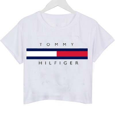 7e6b9641e tommy hilfiger logo shirt graphic print tee for women