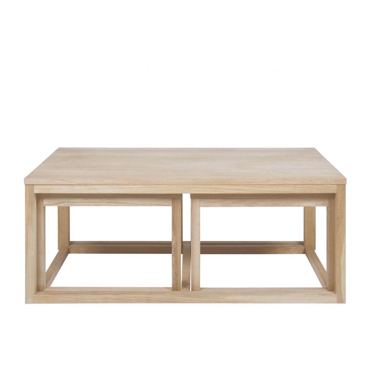 Table Basse Corner En Chene Taille Taille Unique Products Table Basse Table Basse Gigogne Et Table Basse Chene