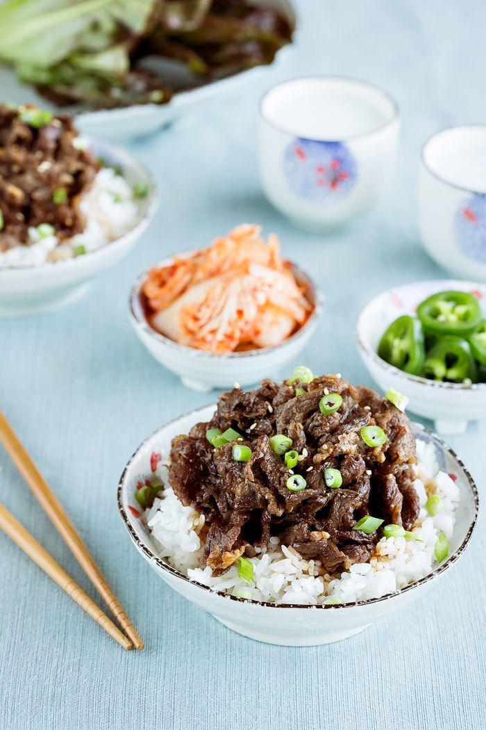 Easy Korean Beef Marinade | Recipe | Bulgogi beef, Korean ...