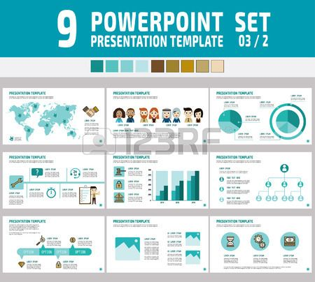 powerpoint 多目的ビジネス プレゼンテーション template infographic