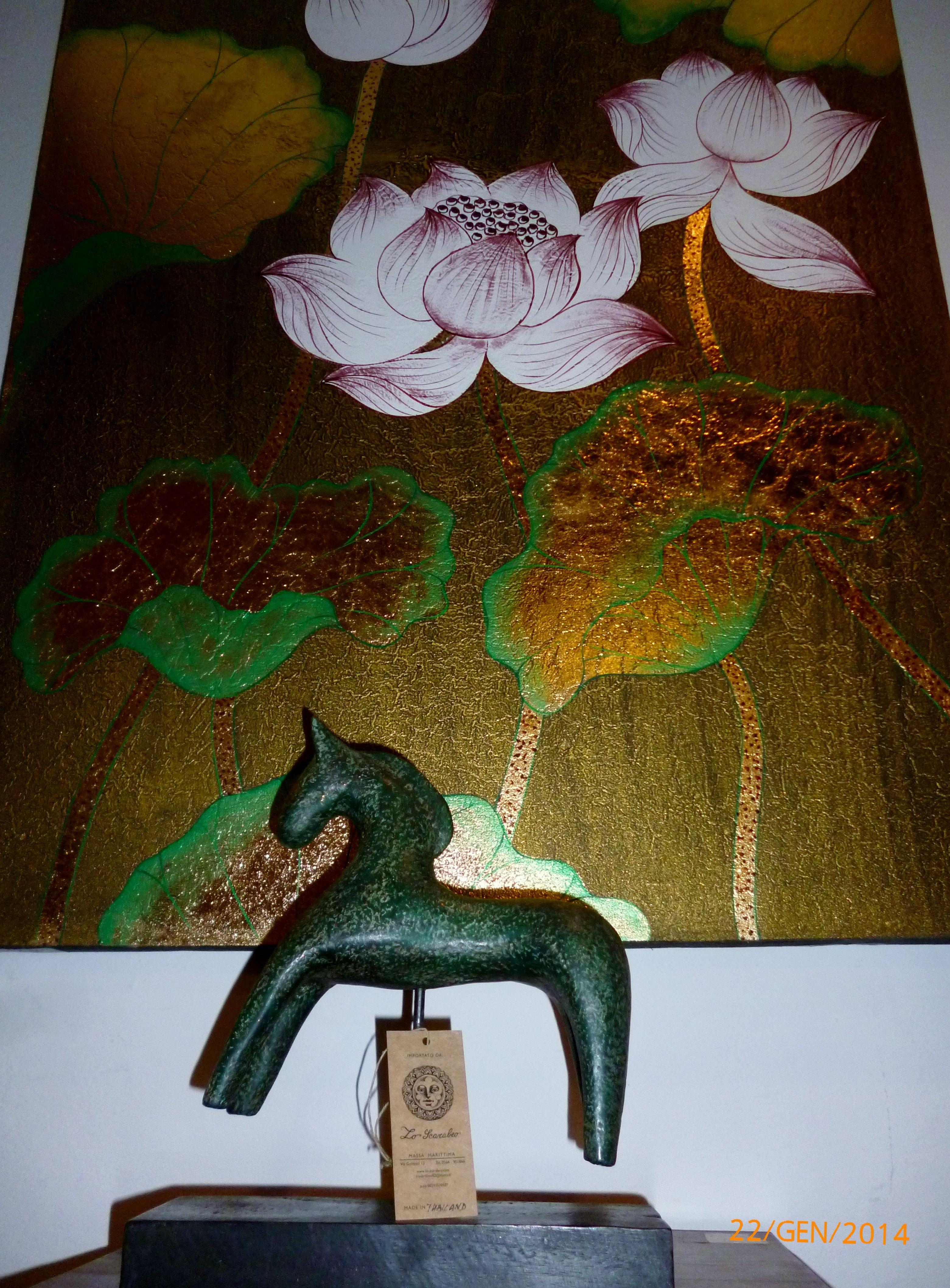 cavallino in legno €22,50