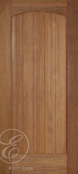 Exterior Rustic Teak 1 Panel Arch Top Door Door Store America Stained Front Door Solid Wood Doors Exterior Solid Wood Doors