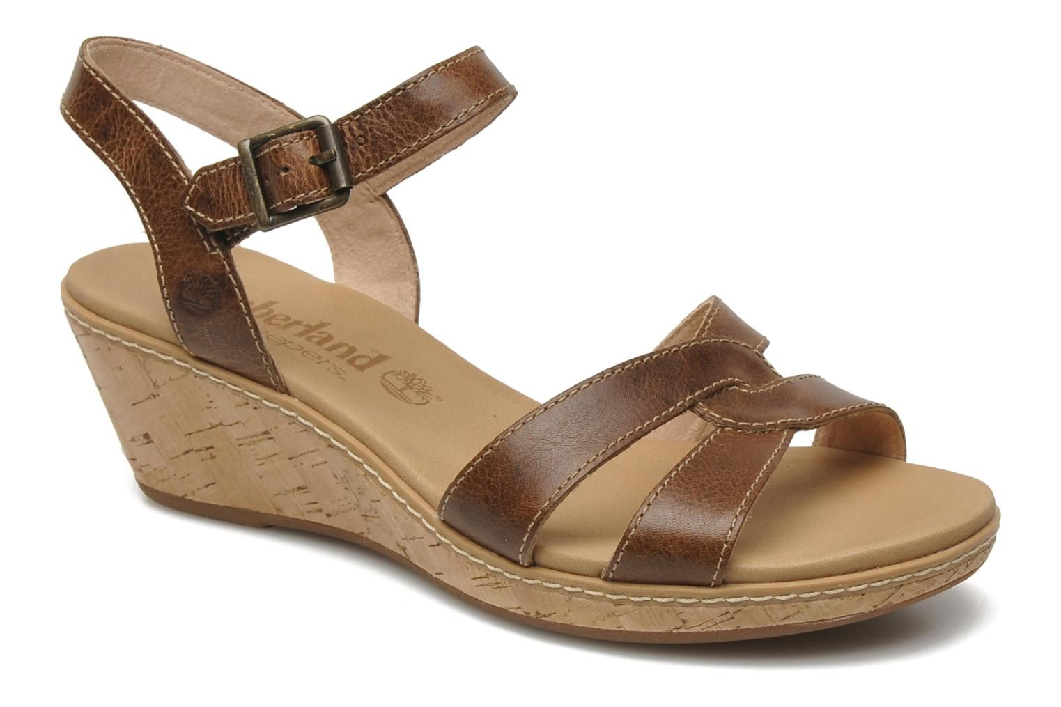 Durable Timberland Earthkeepers Maeslin Ankle Strap Sandals Women Brown T170716