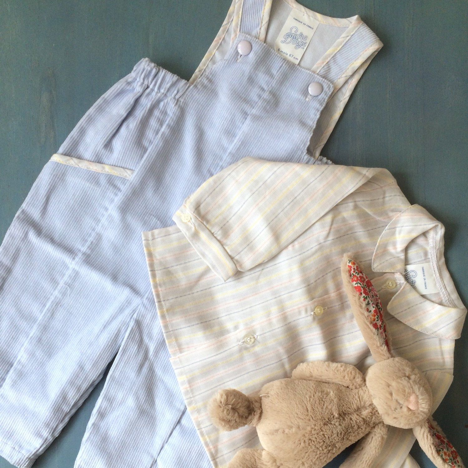 No style mix today This vintage baby boy outfit listed yesterday is