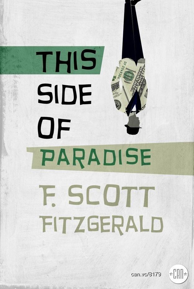 Preciosa cubierta de Sawsan Chalabi para uno de los grandes clásicos de F. Scott Fitgerald, en edición de 2012.