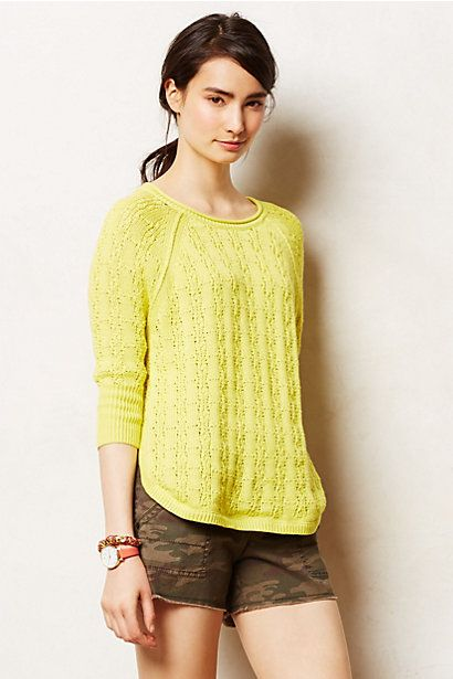Collected Pullover #anthropologie by sparrow size M