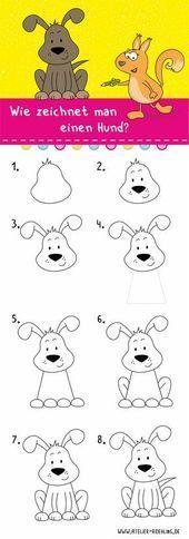 Cómo dibujar un perro  paso a paso con instrucciones en PDF  dibujo  para Estás en el lugar correcto para paso firmes Aquí presentamos paso fotografi...