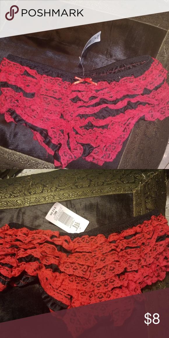 24ce5bbf2fc6 Hot Topic Red Rhumba Panties Sz MD Jrs NEW Brand new. So dainty & cute! Hot  Topic Intimates & Sleepwear Panties